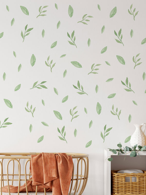 greenery wall decals product image